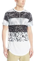 Akademiks Men's Fire Longline T-Shirt