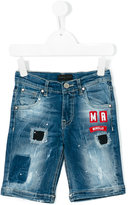 Frankie Morello Kids - denim shorts - kids - Cotton/Spandex/Elastane - 3 yrs