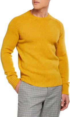 Prada Shetland Crewneck Wool Sweater