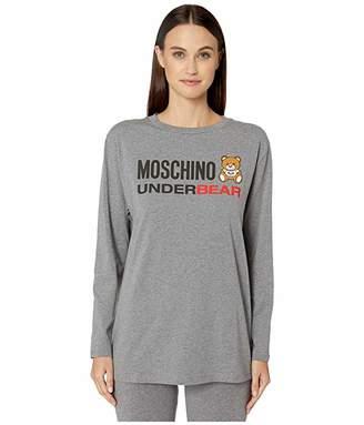 Moschino Underbear Jersey Maxi T-Shirt