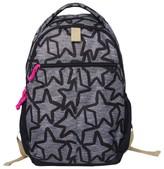"""Cat & Jack 18"""" Kids' Backpack - Black Star"""