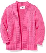 Old Navy Open-Front Pointelle-Knit Cardi for Toddler Girls
