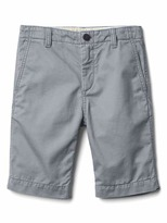 Gap Solid flat front shorts