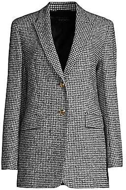 Escada Women's Beek Houndstooth Wool-Blend Jacket
