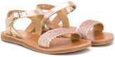 Pom D'Api Shell sandals - kids - Leather/PVC/rubber - 30