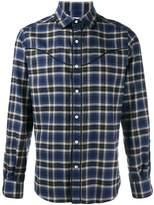 Valentino Men's Blue Cotton Shirt.