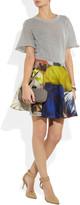 Chalayan Printed cotton circle skirt