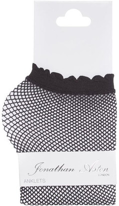 Jonathan Aston Fishnet anklet sock
