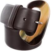 Giuseppe Zanotti Leather Waist Belt