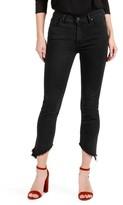 Paige Women's Julia High Waist Straight Leg Jeans With Angled Hems