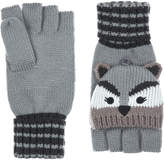 Accessorize Racoon Capped Gloves