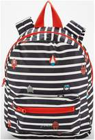 Joules Boys Stripe Rubber Rucksack