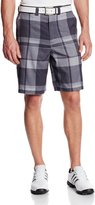 ZeroXposur Men's Plaid Cargo Golf Shorts