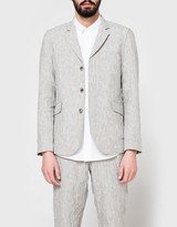 Wings + Horns Washed Linen Blazer