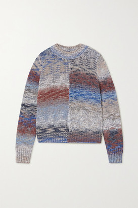 Vanessa Bruno - Melange Knitted Sweater - Blue