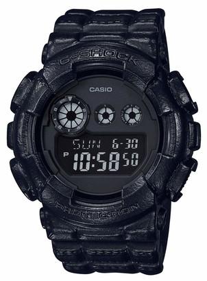 Casio Mens Digital Quartz Watch with Plastic Strap GD-120BT-1ER