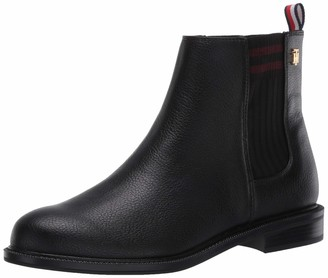 Tommy Hilfiger Women's POE Ankle Boot