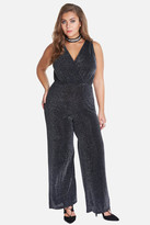Fashion to Figure Orion Wide Leg Shimmer Jumpsuit