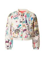 Billieblush Patterned Bomber Jacket