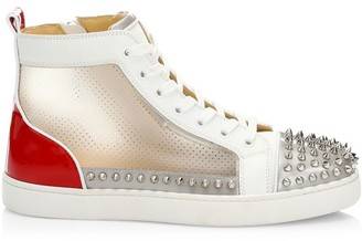 Christian Louboutin Sosoxy Spikes Low-Top Sneakers