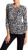 Joie Feronia Cashmere Animal Print Sweater