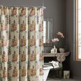 Croscill Mosaic Leaves 54-Inch x 78-Inch Stall Fabric Shower Curtain