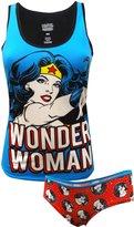 WebUndies.com DC Comics Wonder Woman Camisole & Panty Set for women
