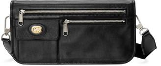 Gucci Medium soft leather messenger bag