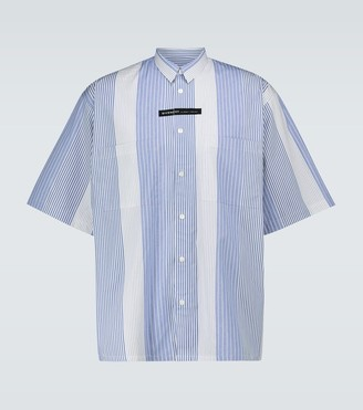Givenchy Candy striped short-sleeved shirt