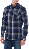 DC Long Sleeve Woven Check Shirt
