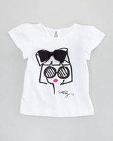 Milly Minis Milly Girl Flutter Tee 2-7