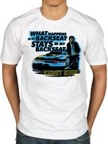 AWDIP Official Knight Rider Backseat T-Shirt Licensed Novelty