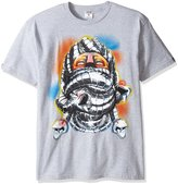 Crooks & Castles Men's Planet T-Shirt, Heather Grey, 3XL