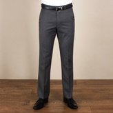Karl Jackson Charcoal Herringbone Regular Fit Trouser