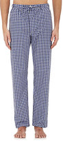 Barneys New York Men's Checked Cotton Pajama Pants