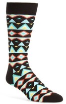 Happy Socks Men's Faded Diamond Socks