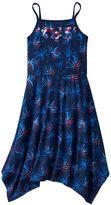Girls 7-16 SO® Embellished Handkerchief Hem Knit Dress