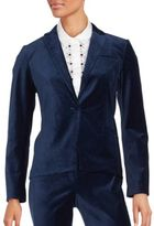 Laundry by Shelli Segal Long Sleeve Notch Lapel Jacket