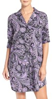 Lauren Ralph Lauren Print Sateen Night Shirt