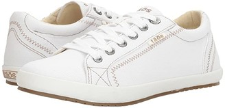 Taos Footwear Star (White Canvas) Women's Lace up casual Shoes