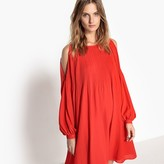 Vero Moda Long-Sleeved Midi Dress