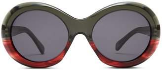 Oliver Goldsmith Sunglasses Audrey 1963 Black Plum
