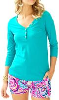 Lilly Pulitzer Palmetto V-Neck T-Shirt