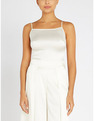 Myla Covent Garden square-neck stretch-silk body