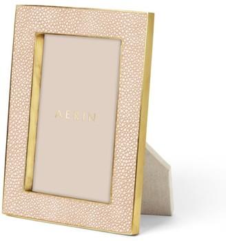 AERIN Rectangular Shagreen Picture Frame