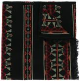 Valentino Garavani Valentino Navajo jacquard scarf - men - Silk/Wool - One Size