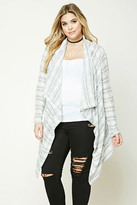 Forever 21 FOREVER 21+ Plus Size Drape-Front Cardigan