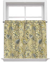 Waverly Brighton Blossom Rod Pocket Window Tiers