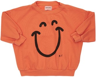 Bobo Choses Smile Print Organic Cotton Sweatshirt