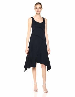 Karen Kane Women's Seamed Handkerchief Hem Dress